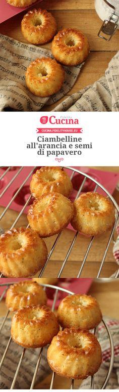 Ciambelline #arancia e semi di papavero della nostra utente Simona. Unisciti alla nostra Community ed invia le tue ricette!