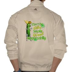 Don't be Silly Smoke Weed Resp. T-shirt