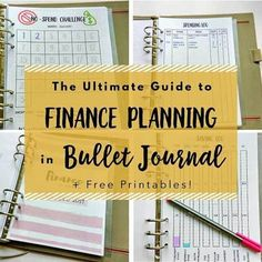 I have written up an epic guide for financial planning in bullet journal covering everything from being conscious of your spending to making more money! The guide is super long and comprehensive, I am sure it will help beginners and advanced planner folks who would like to use bullet journal for finance. Plus I included plenty of visual inspirations and some free printables. Please check it out at infiniteplanner.com