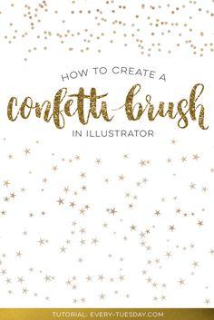 How to Create a Confetti Brush in Illustrator