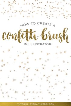 How to Create a Confetti Brush in Illustrator