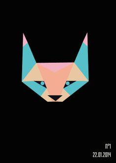 // On change de couleurs et d'heures #2 //  #renard #fox #esprit #animal #espritanimal #animalspirit #spirit #animals #animaux #graphisme #vectoriel