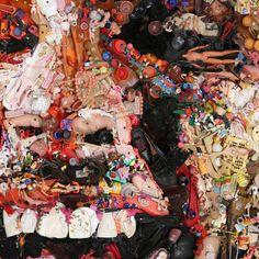 Best Of 2012: Tom Deininger's Junk Portraits and sculptures