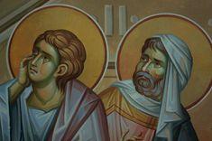 Iconographer Dimitris Maniatis – icoana Byzantine Icons, Byzantine Art, Orthodox Icons, Vignettes, Princess Zelda, Face, Fictional Characters, Angels, Angel