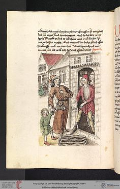 Cod. Pal. germ. 84: Antonius von Pforr: Buch der Beispiele ; Passionsgebet (Schwaben , um 1475/1482), Fol 67v