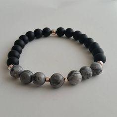 Jasper Bracelet Onyx Bracelet Men's beaded bracelet