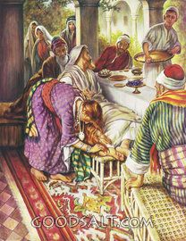 Christ in the Pharisee's House