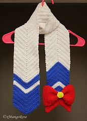Ravelry: Sailor Moon Scarf Inspired pattern by Wendy (xMangoRose)