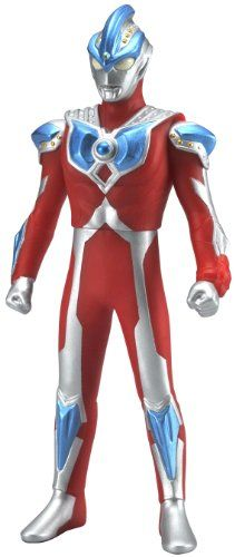 Bandai Japan Tsuburaya Ultra Hero 500 Spark Dolls Series: #11 & #29 (B) Ultraman Galaxy Ginga Strium (Human Host: Hikaru Raido) Soft Vinyl Figure 5 Inches Tall with Licensed Show Tag and Special Instructions for both DX Ultraman Ginga Spark and DX Dark Spark Bandai Japan/Tsuburaya Productions 2014 http://www.amazon.com/dp/B00K0PXU6G/ref=cm_sw_r_pi_dp_REv7ub01G6H6Z