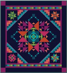 - Amish With a Twist III: Best of Friends Quilt Kit <br><font color=red>Expected Arrival September 2015</font> - Craft Town Fabrics