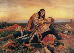 varvar.ru : #Serbian #art / Uros Predic / Kosovka devojka (Kosovo Maiden ...