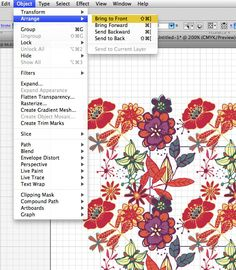 Seamless pattern tutorial