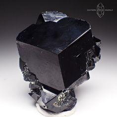 Wow! Stunning Black Tourmaline Crystal Specimen, Erongo Namibia