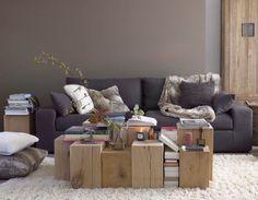 living room home design interior design decorating before and after room design designs Home Living Room, Living Room Designs, Murs Taupe, Modern Grey Sofa, Gray Sofa, Sweet Home, Home And Deco, Modern House Design, Home Interior Design