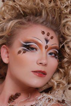 Tyutyushka Matvienko Eye Makeup Art, Doll Makeup, Makeup Inspo, Pretty Makeup, Makeup Looks, Fantasy Make Up, Cosplay Makeup, Creative Makeup, Bandanas
