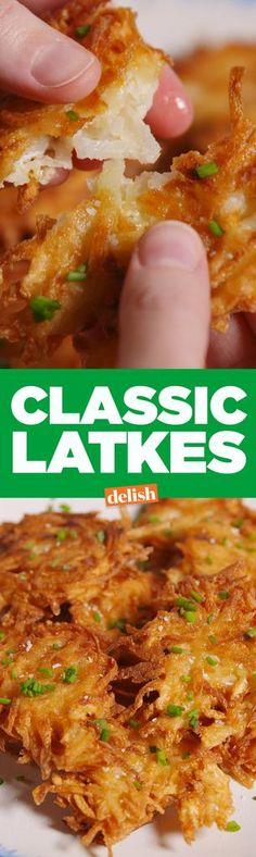 Making Classic Latkes Video — Classic Latkes Recipe How To Video