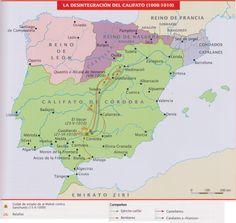 La desintegración del califato de Córdoba (1008-1010).