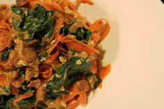 carrot and kale salad