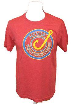 BRUMLA.CZ – Značkový dětský a dospělý second hand a outlet, použité oděvy pro děti a dospělé - Pánské červené tričko s potiskem zn. Next vel. M