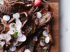 Grilled Short Ribs with Smoky Blackberry Barbecue Sauce | These delicious short ribs are brushed with an easy blackberry barbecue sauce before they're grilled.