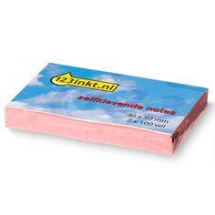 123inkt zelfklevende notes roze 40 x 50 mm (2 blokjes van 100 vel)  |  De roze 123inkt zelfklevende notes (40x50 mm) zijn voorzien van een prettig beschrijfbare toplaag. Dankzij de zelfklevende laag kunt u ze direct vanaf het blok gebruiken. De notes zijn zonder het achterlaten van lijmresten te verwijderen en te herplaatsen.
