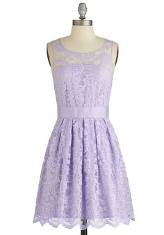 When the Night Comes Dress in Violet, #ModCloth