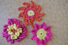 #Crochet flower photos to brighten your day