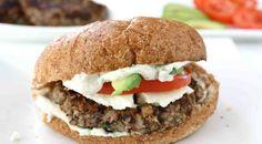 Jamaican Bean Burger  #jamaica #food #vegan #vegetarian #tasty #delicious #recipes