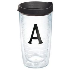 Tervis Tumbler Initials Deco Tumbler with Lid Size: 24 oz., Initial: Z