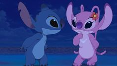 """""""Screw Prince Eric.. All Ariel really wanted in the end was Stitch.""""🐾💜  Inside joke 😂💙"""