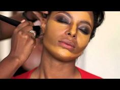 This video shows how I applied foundation, and how I contoured and highlighted Lolas face. She has lovely caramel skin, perfect for showcasing exactly how to shape the face using dark and light shades of foundation. I shot this video in bright natural daylight, and as the sun disappeared and reappeared behind clouds, it changed the shades of th...