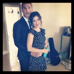 Lucy Hale e Chris Zylka
