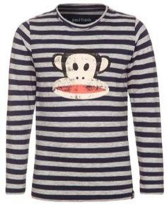 Paul Frank Gestreepte T-shirt voor jongens, verkrijgbaar in de maten 1-2Y, 3-4Y, 5-6Y 7-8Y.  29.95 EUR