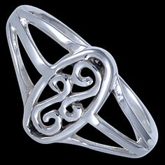 Sterling silver ring, celtic design