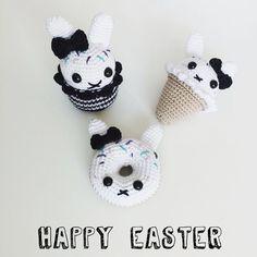 Happy easter  . #easter #pasen #happyeaster #fijnepasen #crochet #haken #hakeln…