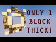 1.11 - 1.12+ Incredibly Compact 3X3 Piston door! Better than most other designs! - YouTube