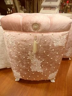 Fabric Covered Boxes, Hope Chest, Four Square, Jewelry Box, Diy And Crafts, Couture, Storage, Create, Beautiful