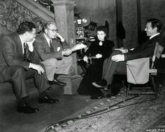 vintage everyday: 37 Rarely Seen Behind-the-Scenes Photos from the Making Film 'Gone With the Wind' (1939)