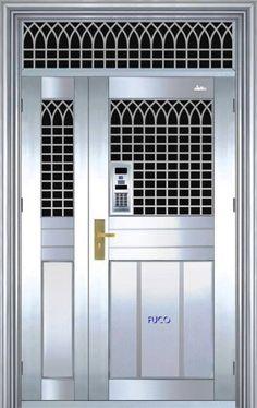 cửa inox, mẫu cửa inox đẹp của cty Fuco