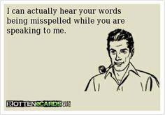 talking to an idiot