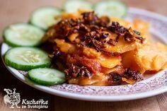 Kuchařka ze Svatojánu: INDONÉSKÉ BRAMBORY Cantaloupe, Meals, Fruit, Invite, Kitchen, Food, Cooking, Meal, Kitchens