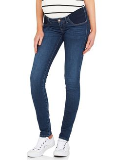 Queen Bee Reina Mid Gold Reform Super Skinny Maternity Jeans by Mavi