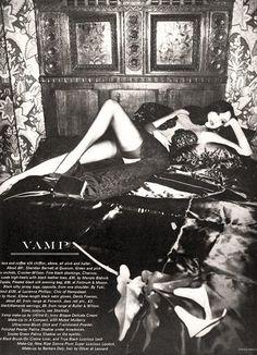 Marie Helvin by David Bailey, Vogue UK June 1974    #Fashion #Vogue #Vamp
