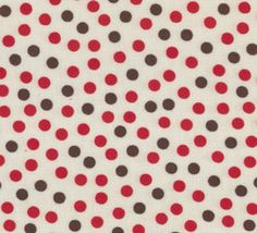 Red and Brown Dots