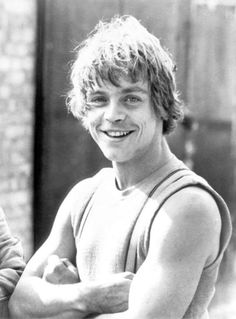 Mark Hamill (September 25, 1951) American actor, o.a. known from the Star Wars movies as Luke Skywalker.