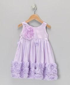 Take a look at this Lilac Twinkle Toes Dress - Infant & Toddler by C'est Chouette on #zulily today!
