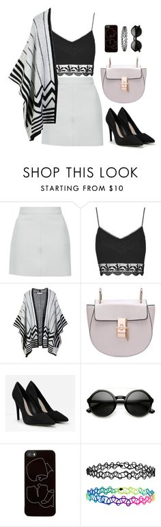 """Ruth"" by goodruth ❤ liked on Polyvore featuring Topshop, LE3NO, CHARLES & KEITH, Zero Gravity and Accessorize"