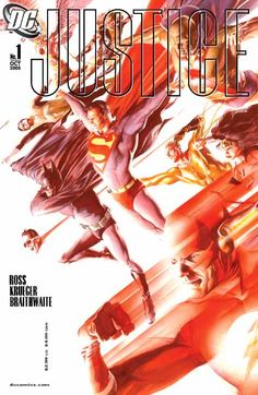 Justice #1, by Alex Ross.