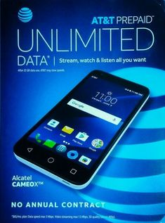 Alcatel Cameox - Arctic White (AT&T) Prepaid Smartphone Newest Cell Phones, New Phones, Tablet Phone, Smartphone, Phone Case, Prepaid Phones, Phones For Sale, Flip Phones, Cell Phone Covers