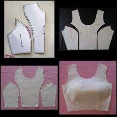 Dress Sewing Patterns, Sewing Patterns Free, Sewing Tutorials, Clothing Patterns, Diy Clothing, Sewing Clothes, Fashion Sewing, Diy Fashion, Costura Fashion